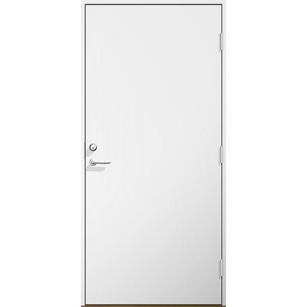 Byggdörr HDF vitmålad Modul 10x21