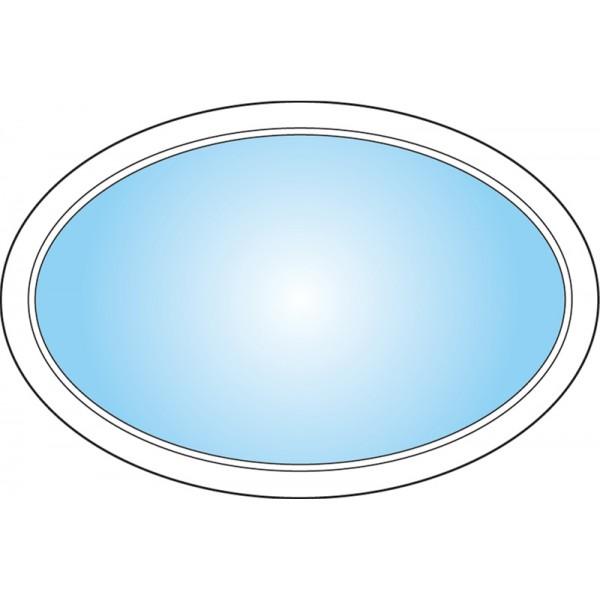 Dekorfönster Ellips Modul 12x8