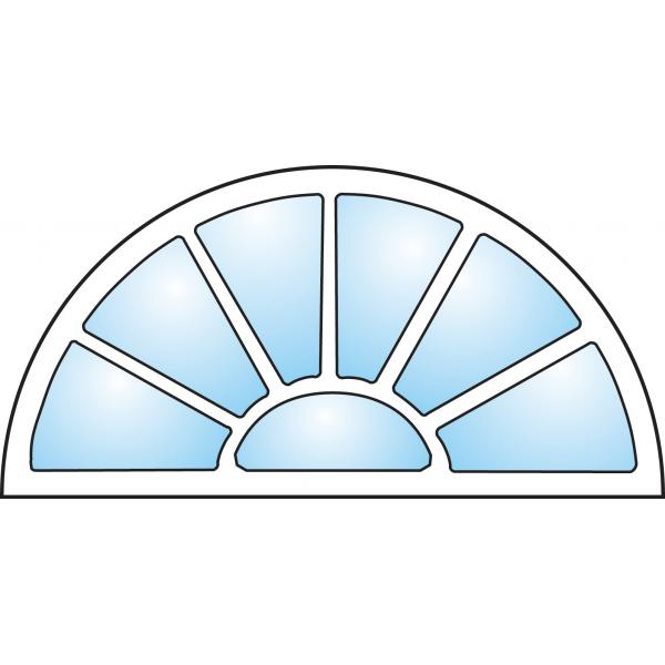 Dekorfönster Exklusiv Modul 8x4