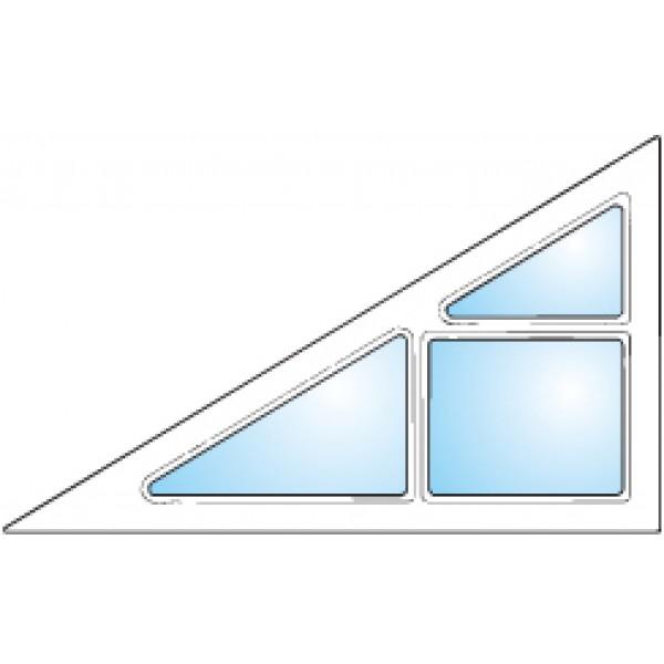 Dekorfönster Gavel