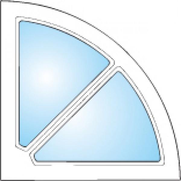 Dekorfönster Kvartsmåne Modul 4x4