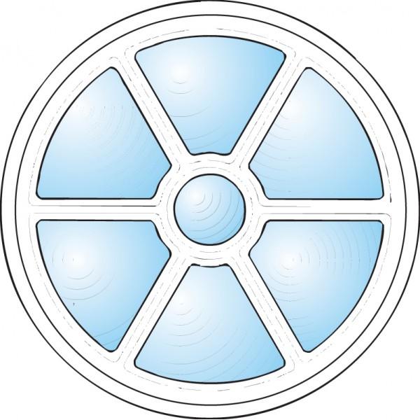 Dekorfönster Sol Modul 6
