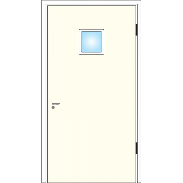 Dörrglaslist kvadrat