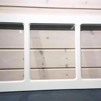 Dekorfönster Kombi med spröjs, stående/liggande
