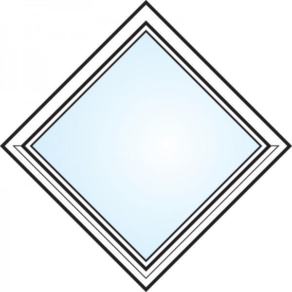Fönster 3-glas energi argon fyrkant