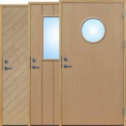 Lagerförda dörrar