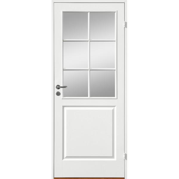 Innerdörr formpressad med 3 speglar SP6 gammal standard mått