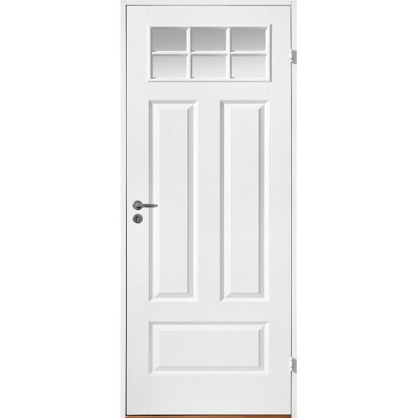 Innerdörr formpressad kompakt med 4 speglar SP6