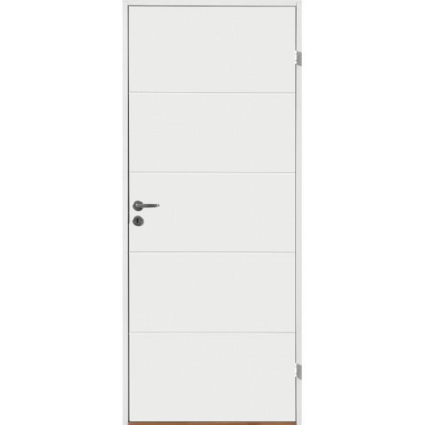 Innerdörr formpressad kompakt med liggande spårning gammal standard mått