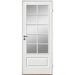 Innerdörr formpressad kompakt med 4 speglar SP10 gammal standard mått