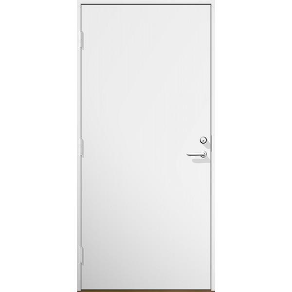 Ytterdörr Opal Lagervara - Vitmålad Modul 9x21 Vänster